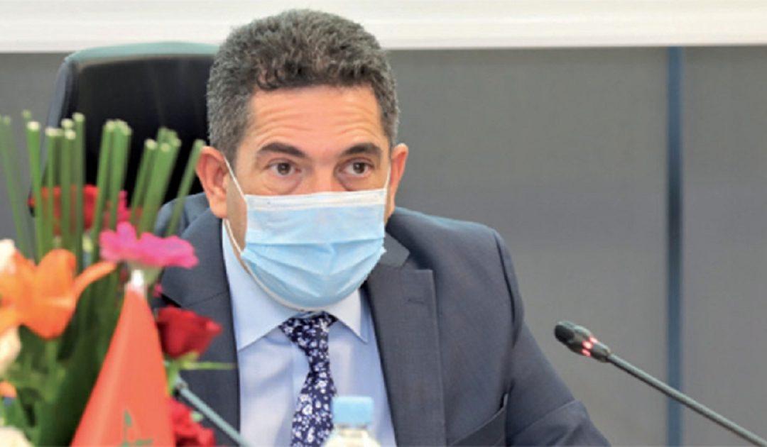 صورة أمزازي ينفي مايروج حول حصوله على الجنسية الإسبانية ويعلن متابعة الجريدة التي نشرت الخبر