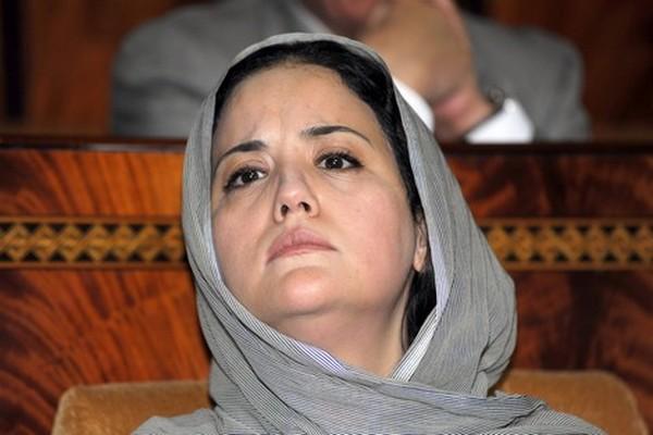"""صورة مطالب من حزب """" الوردة """" بترشيح حسناء أبو زيد للإنتخابات البرلمانية بإنزكان"""