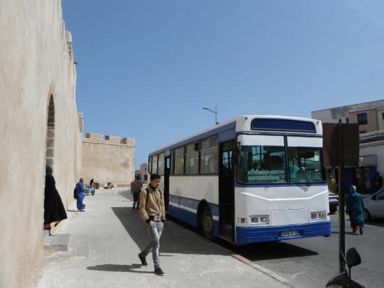صورة زيادة 2 دراهم في تسعيرة الحافلة يخرج ساكنة الصويرة للإحتجاج
