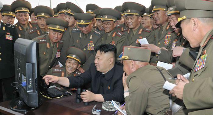صورة رئيس كوريا الشمالية أعدم 10 أشخاص استخدموا الهاتف سرا
