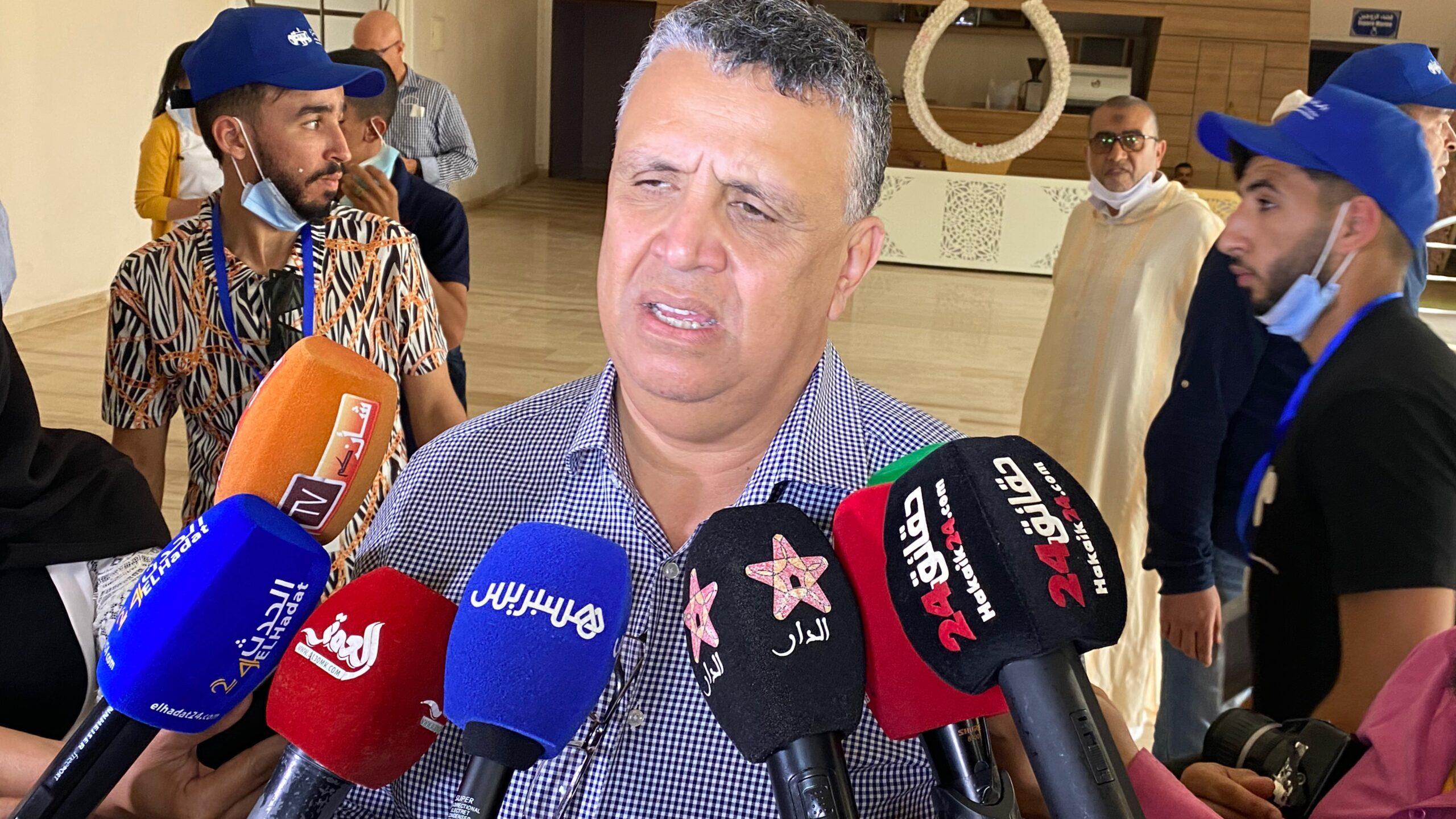 صورة وهبي : المواطن السوسي قدم الكثير للجهة لكنه حصل على القليل بسبب نهب المفسدين للثروات وخيرات المنطقة