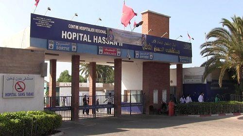 صورة أكادير .. امرأة تلد في السيارة يضع مستشفى الحسن الثاني في قفص الإتهام
