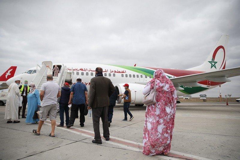 """صورة فرنسا تفتح حدودها الجوية وتضع المغرب ضمن الفئة """"البرتقالية""""!"""