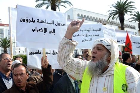 صورة عدم تفعيل مضامين دستور 2011 يخرج هيئة العدول للإحتجاج