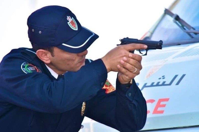 """صورة إطلاق الرصاص لاحباط عملية """"كريساج"""" بالرباط"""