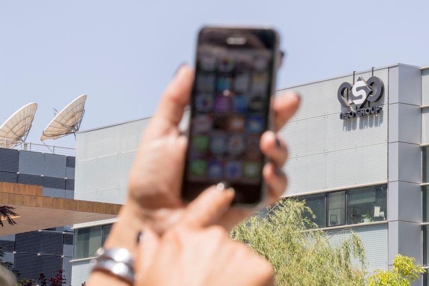 صورة nso الإسرائيلية : هاتف الملك محمد السادس لم يكن قط هدفا لزبنائنا
