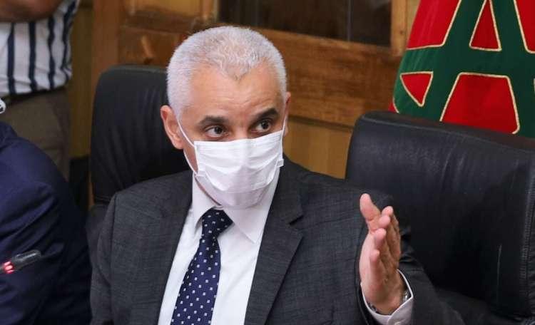 صورة وزير الصحة يحذر المغاربة : التزموا وإلا سنشدد القيود