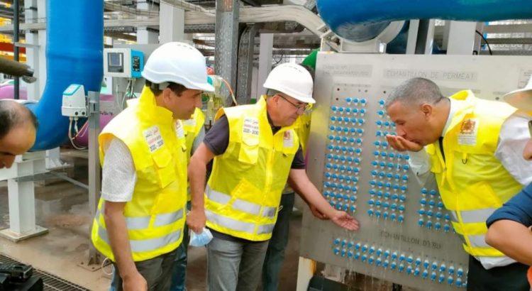 صورة محطة آشتوكة أيت باها تنتج الأمتار المكعبة الأولى من المياه المحلاة