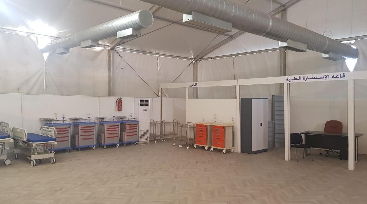 صورة فتح المستشفى الميداني بأكادير إثر ارتفاع غير مسبوق للإصابات بكورونا