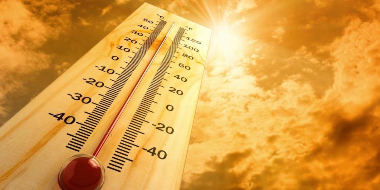 صورة نشرة إنذارية من مستوى يقظة برتقالي .. موجة حر بعدد من مناطق المملكة
