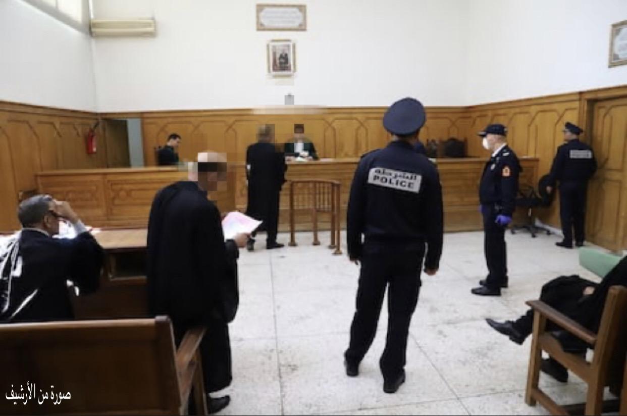صورة قاض يغمى عليه بالمحكمة الإبتدائية بفاس