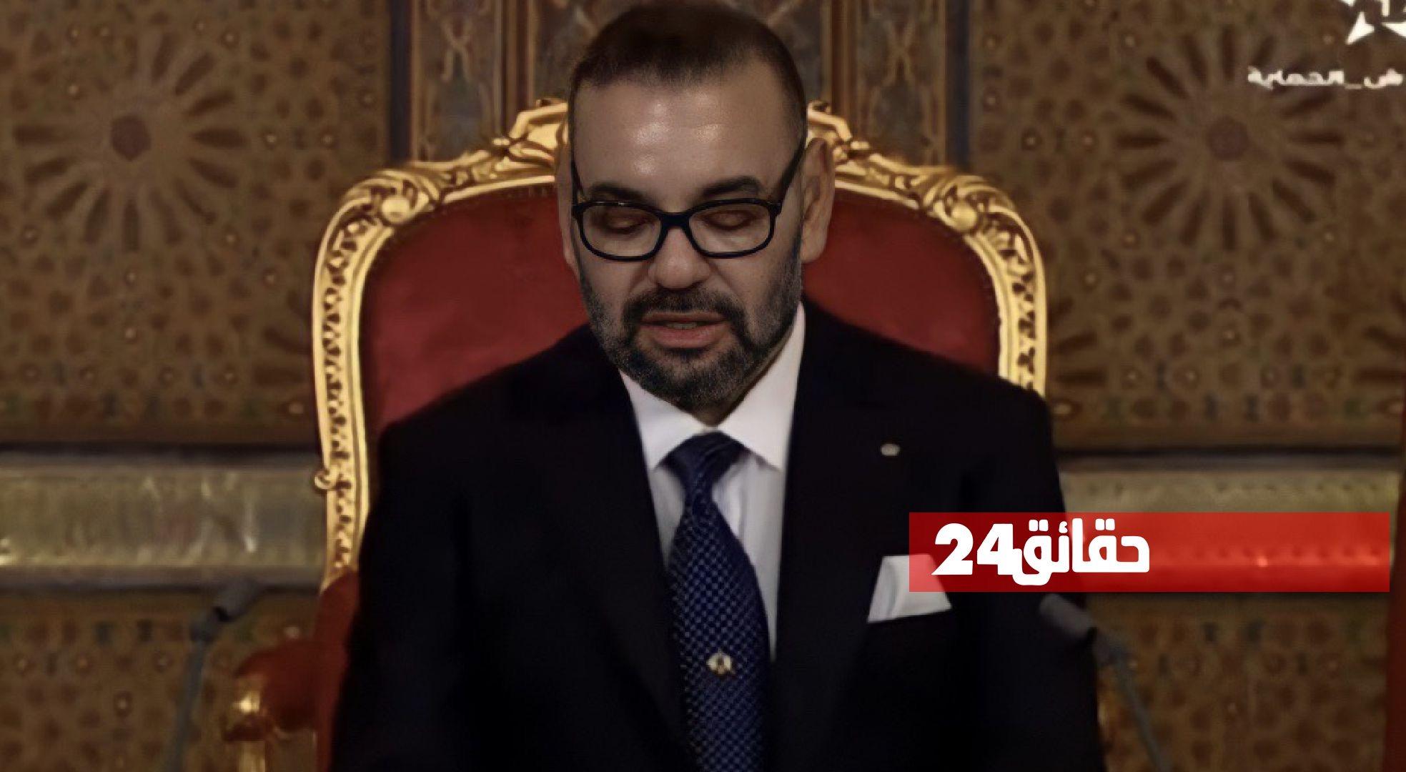 صورة الملك : نؤكد لأشقائنا في الجزائر أن الشر والمشاكل لن تأتيكم من المغرب