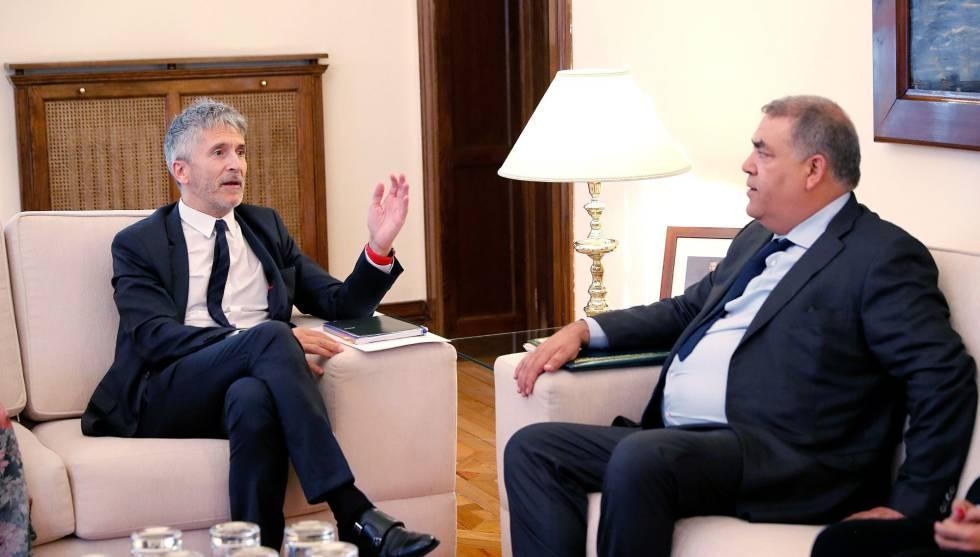 صورة وزير داخلية إسبانيا : المغرب شريك استراتيجي