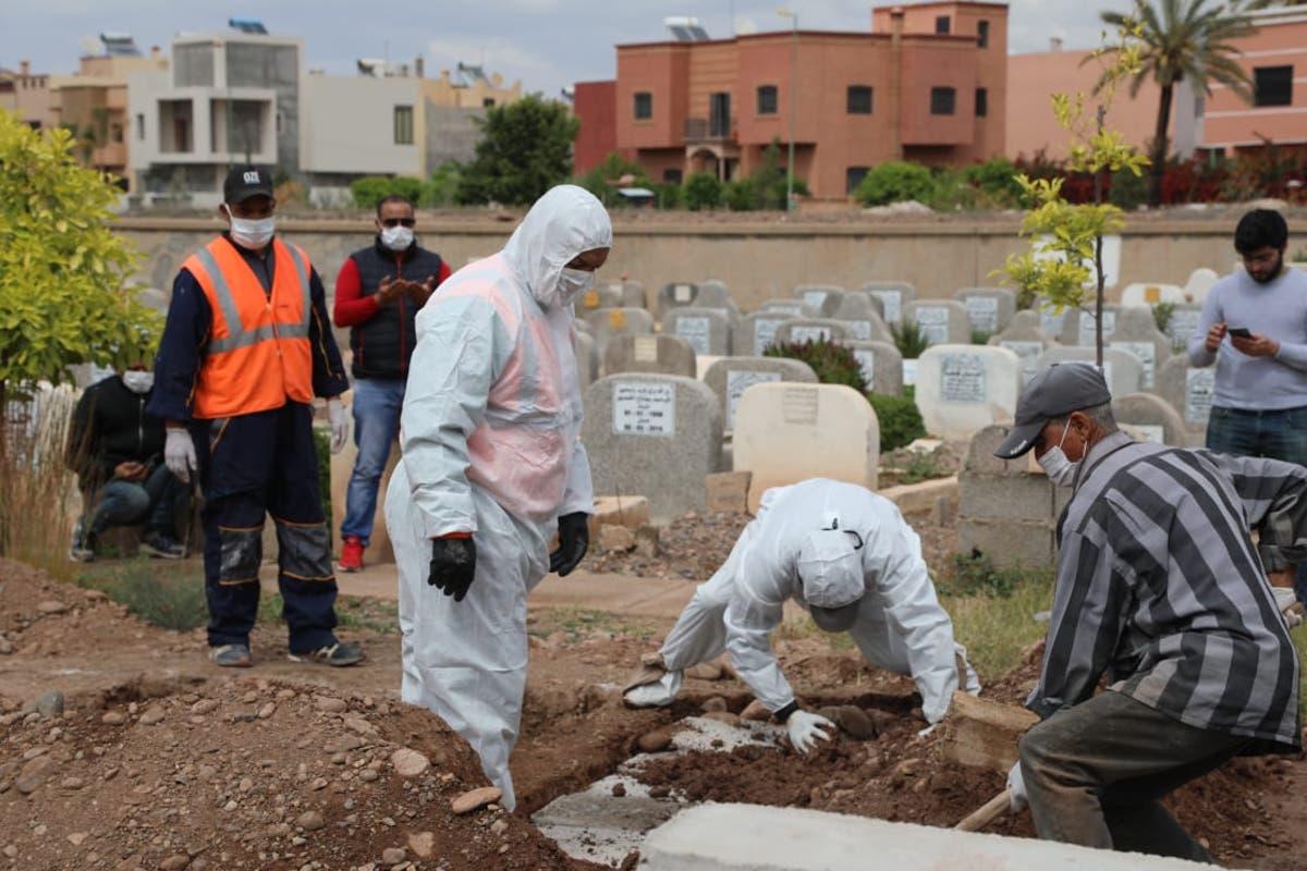 صورة تسجيل 6971 إصابة جديدة بكورونا و 27 وفاة