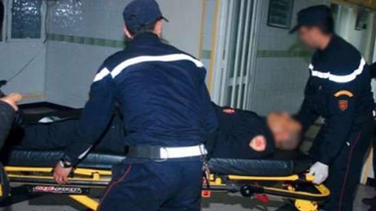 """صورة إصابة ستة أمنيين بجروح خطيرة في تدخل لتوقيف عائلة تروج """"الخمور"""""""