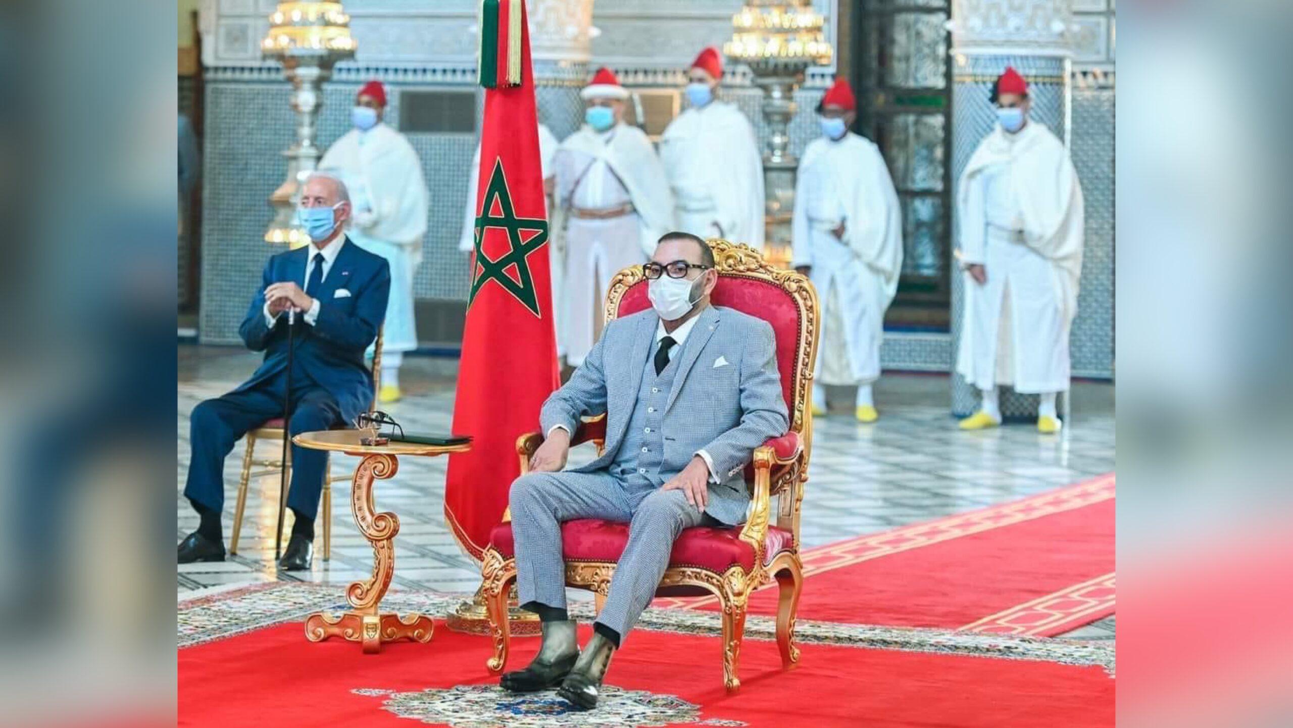 صورة رسميا .. الملك يطلق مشروع صناعة لقاح كورونا بالمغرب
