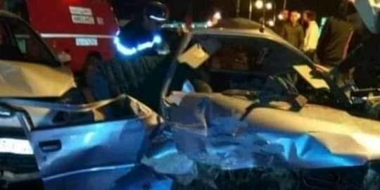 صورة مصرع ربان طائرة في حادث مروع بالدارالبيضاء