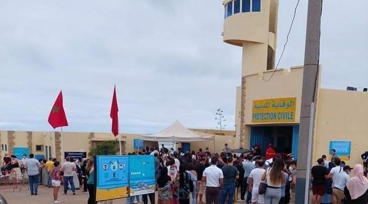 صورة سلطات الدار البيضاء تفتتح مراكز في الشواطئ لتسريع عملية التلقيح
