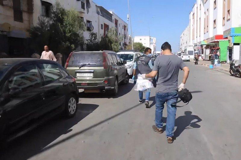 """صورة """"مواد متفجرة """" تستنفر مصالح أمن سيدي البرنوصي"""