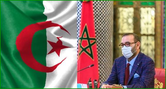 صورة الملك يمد يد المساعدة للجزائر في مكافحة حرائق الغابات