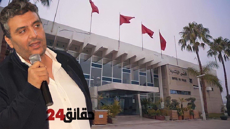"""صورة حميد وهبي وكيلا للائحة  """"البام"""" بجماعة أكادير"""