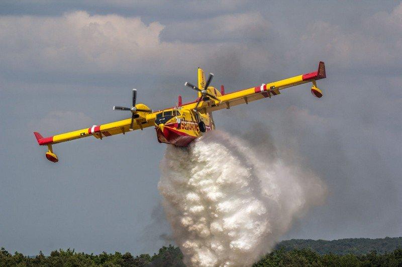 """صورة حريق """" غابوي """" يستنفر سلطات شفشاون"""