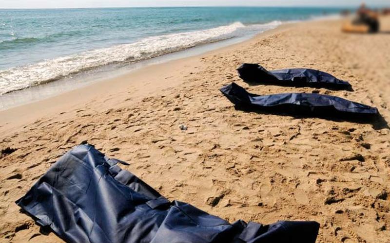 صورة غرق ثلاث فتيات من عائلة واحدة بشاطئ هوارة ضواحي طنجة