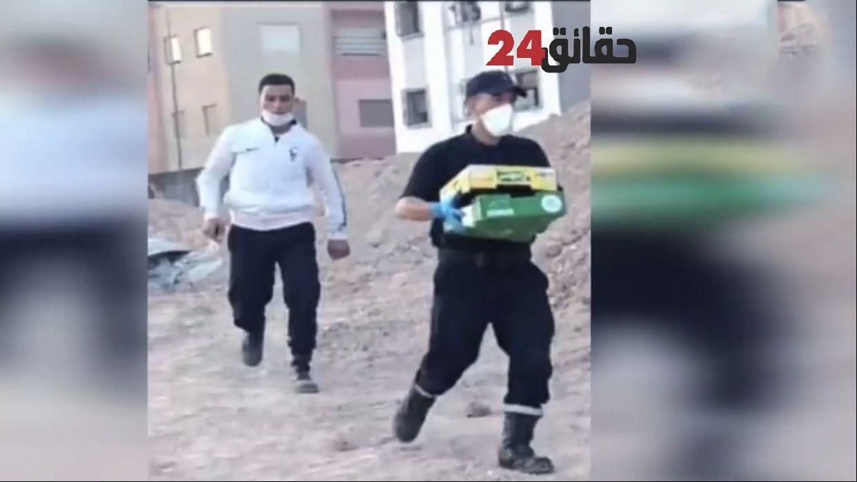 صورة توقيف معتقل سابق في قضايا الإرهاب قتل والدته وخرج يتجول برأسها