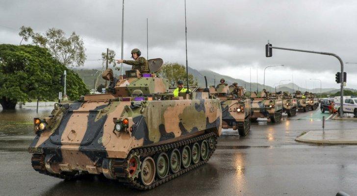 صورة أستراليا.. الجيش ينتشر بشوارع سيدني لتطبيق العزل الصحي