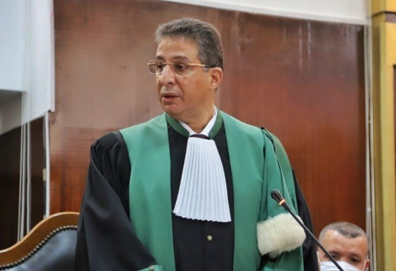 صورة تنصيب الوكيل العام والرئيس الأول لمحكمة الإستئناف بتطوان