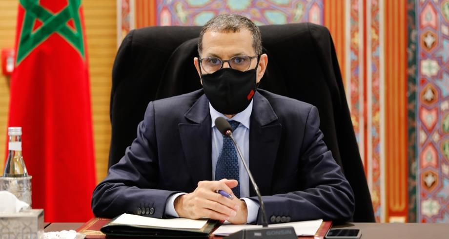 صورة العثماني : لن نفرض إجبارية التلقيح على المواطنين المغاربة
