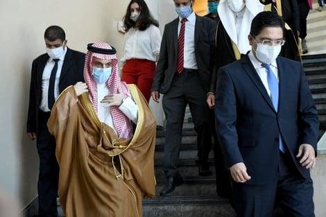 صورة تحرك ديبلوماسي سعودي لتجاوز الأزمة بين المغرب والجزائر