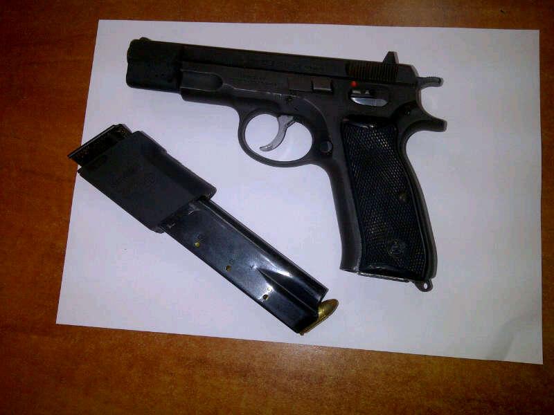 """صورة إنزكان .. إعتقال شخص بحوزته مسدس و قنينات من غاز """"الكريموجين"""""""