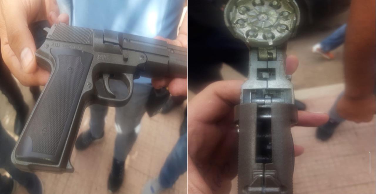 صورة أكادير | توقيف شخص أشهر مسدس في وجه صيدلاني رفض تزويده بأقراص مخدرة