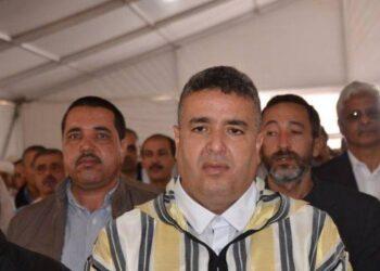 صورة على طريقة أفلام الأكشن.. إصابة عبد الوهاب بلفقيه بالرصاص قبل جلسة انتخاب رئيس جهة كلميم