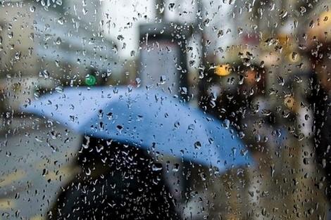 صورة أمطار رعدية قوية بعدد من أقاليم المملكة