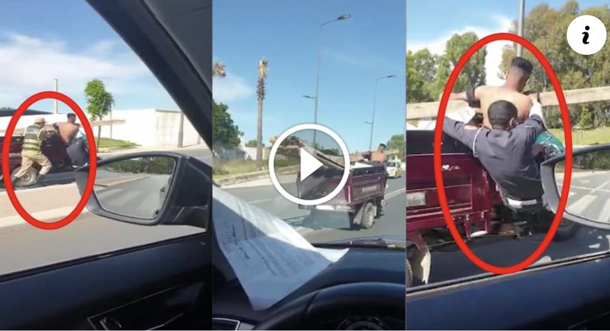 """صورة 20 سنة سجنا نافذا في حق سائق """"تريبورتور"""" قام بسحل شرطي"""