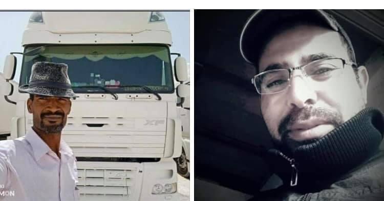 """صورة مقتل سائقين مغربين وإصابة الثالث بأسلحة """"كلاشينكوف"""" في دولة مالي"""
