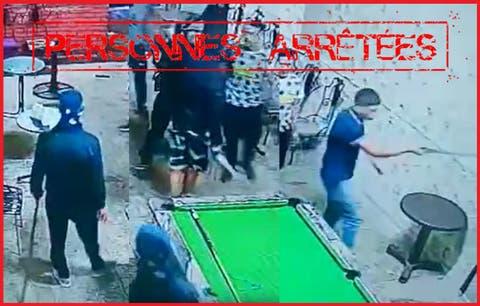 صورة عصابة مسلحة تهاجم بمقهى شعبي بفاس