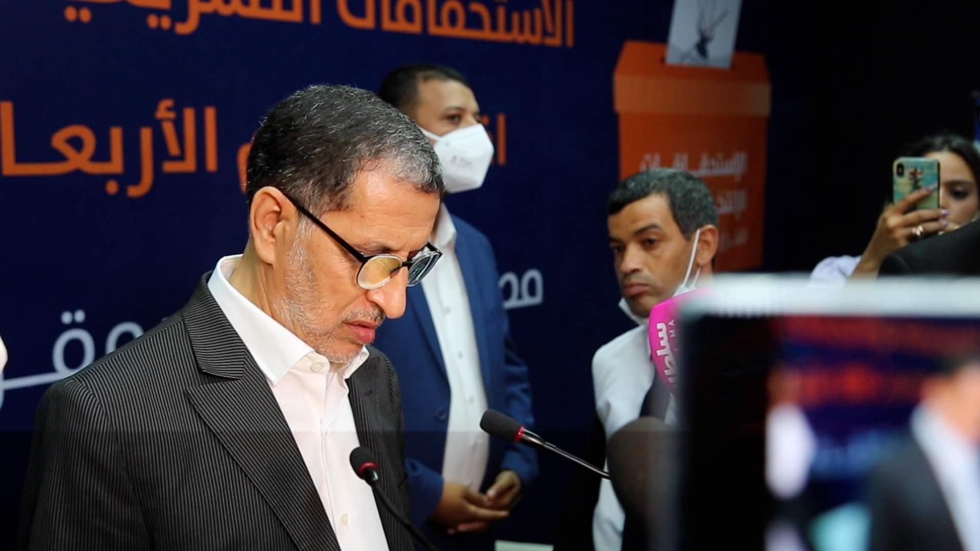 صورة العثماني يقدم استقالته من حزب العدالة والتنمية