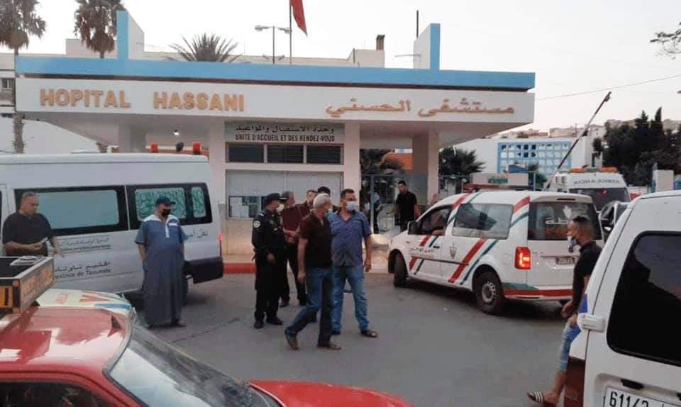 صورة اختفاء رضيع توأم بالمستشفى الحسني بالناظور