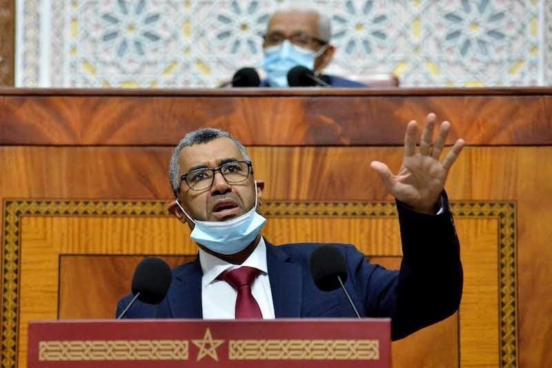 """صورة """"جواز التلقيح"""" ..  بووانو : منع النواب من دخول المؤسسة التشريعية مخالف للنظام الداخلي"""