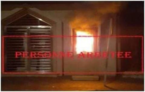 صورة أمن تطوان يفك لغز إضرام النار في شباك بنكي