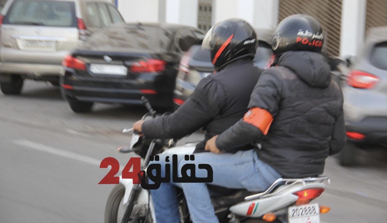 """صورة أكادير .. مهاجمة شرطي بـ """"السيوف"""" وسرقة سلاحه الوظيفي"""