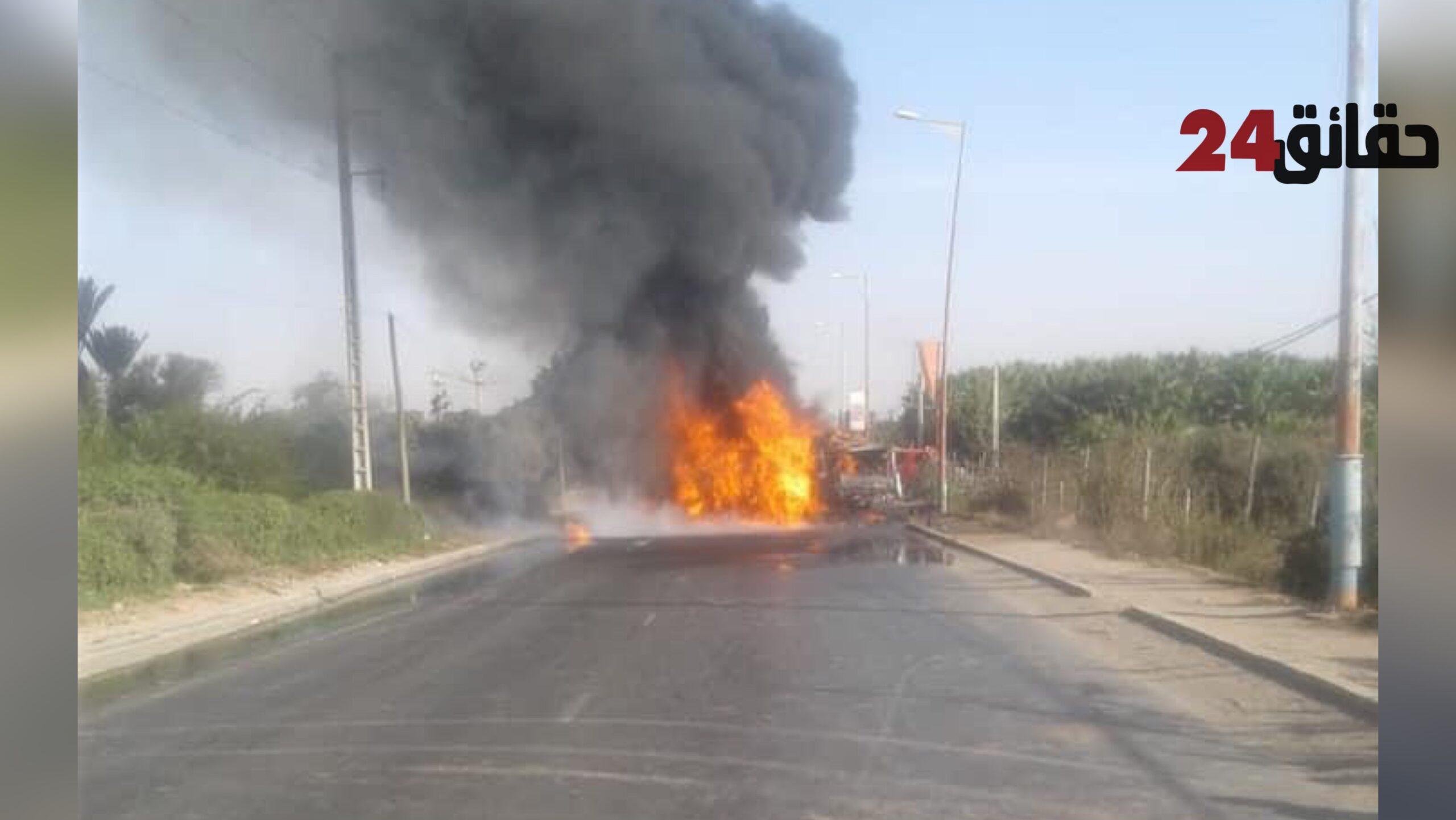 صورة قتيل وجريحين في حادث سير مروع بأيت ملول