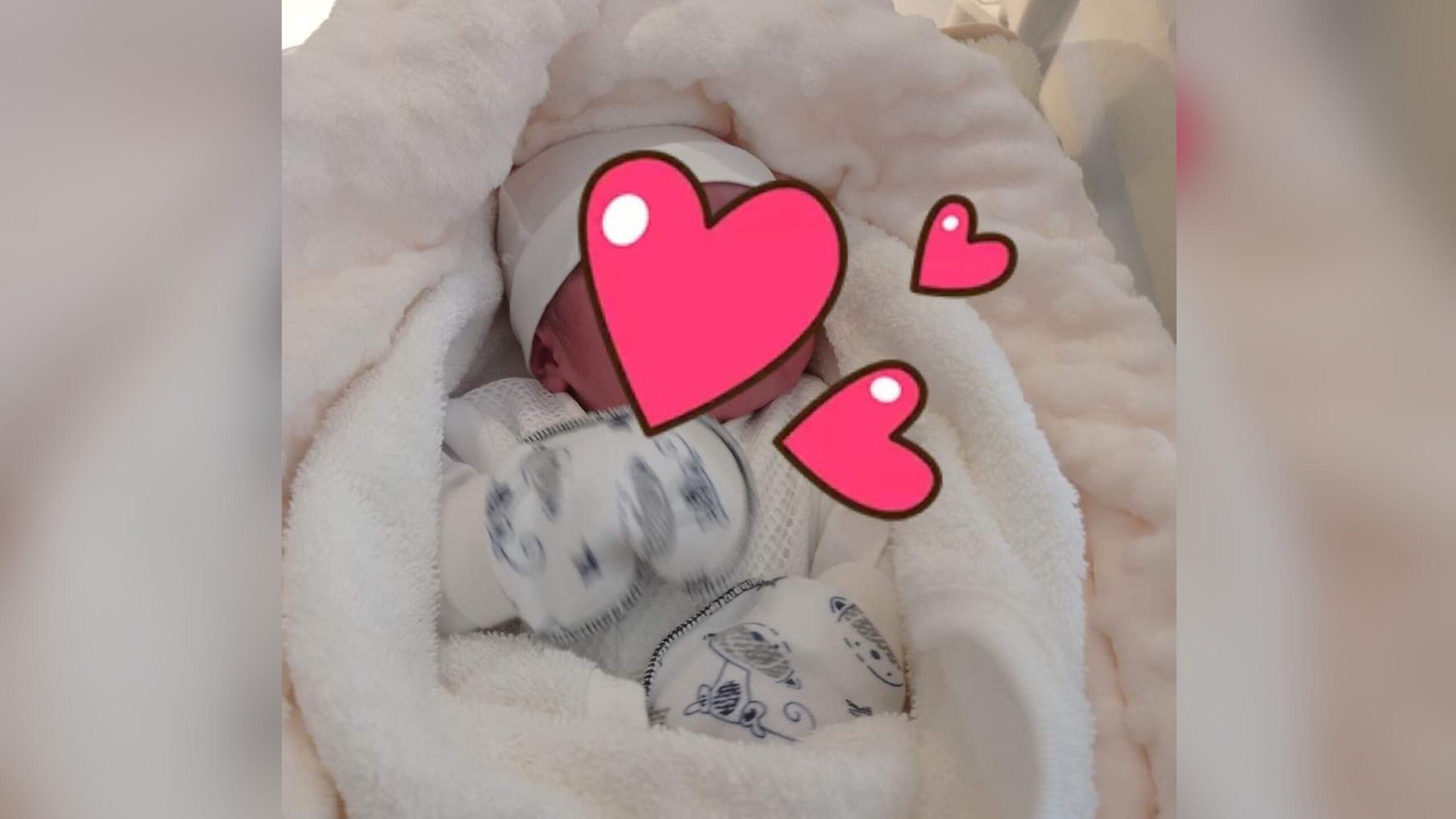 صورة تهنئة بمناسبة ازدياد مولود للزميل لحسن بن سي